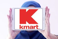 Kmart store chain logo Royalty Free Stock Photography