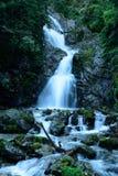 Kmetov vodopad, Vysoke Tatry, Slovakien Arkivfoto