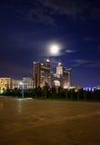 KMG & księżyc Zdjęcie Royalty Free