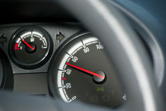 Kmh do medidor de velocidade 50 Imagem de Stock Royalty Free
