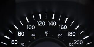 Kmh för hastighetsmätare 60-200 Fotografering för Bildbyråer