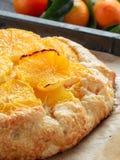 Kminkowy i pomarańczowy tarta Zdjęcie Stock