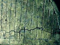 Knäckt guld- texturerar royaltyfri bild