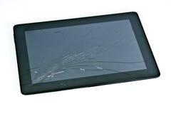 Knäckt tablet Arkivbilder