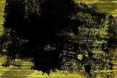 Knäckte träyttersida för ultra gul grunge för designmodell textur- eller mörkerbakgrund Royaltyfri Foto