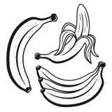 Knäpp monokromobjekt eller designbeståndsdelar Stock Illustrationer