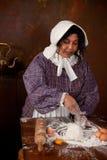 Knåda för Victorianbröddeg Fotografering för Bildbyråer
