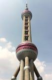 KN-Kontrollturm Shanghai Lizenzfreie Stockfotos