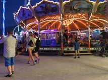 Knabenschiessen Fair, Zurich, Switzerland royalty free stock image