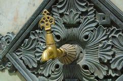 Knacka lätt på på den tyska springbrunnen, Istanbul Arkivbilder