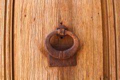 Knackning på dörren Royaltyfri Fotografi