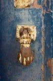 Knackning på dörren Royaltyfri Bild