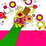 Knal Cork vector illustratie