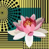 Knall Art Flower Lizenzfreie Stockbilder