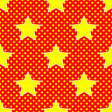 Knall Art Star Stockfoto