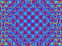 Knall-Kunst-vibrierendes Muster drei Lizenzfreies Stockbild