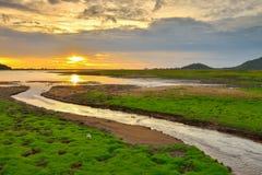Knall Phra-Reservoir Stockbilder