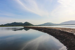 Knall Pra-Reservoir Stockbild