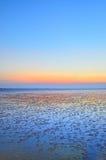 Küste und Himmel Stockfoto