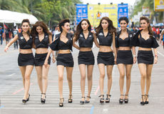 Knall Saen-Geschwindigkeits-Festival, Thailand 2014 Stockbilder