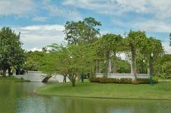 Knall-Schmerz-Palast Aisawan Thipya-Kunst Lizenzfreies Stockfoto