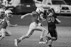 Knall Warner Youth Football stockfotos