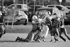 Knall Warner Youth Football lizenzfreie stockbilder