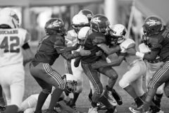 Knall Warner Youth Football stockfoto