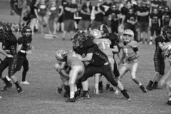 Knall Warner Youth Football stockfotografie