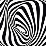 Knalldesign: optische grafische Schwarzweiss-Kunst stockfotografie