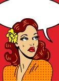 Knallkunstabbildung einer Frau Lizenzfreie Stockbilder