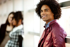 Knap Afrikaans Amerikaans Mannetje royalty-vrije stock foto
