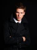 Knap jong mannelijk model Stock Foto's
