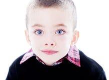 Knap jongensportret Royalty-vrije Stock Afbeeldingen