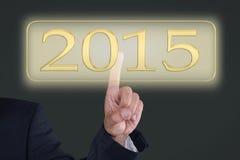 Knapp 2015 Arkivbilder