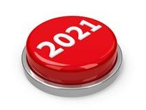 Knapp 2021 vektor illustrationer