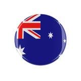 Knapp för australier 3d Royaltyfria Foton