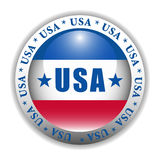 knapp patriotiska USA vektor illustrationer