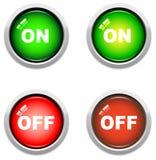 knappar av Royaltyfri Foto