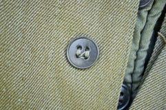 Knappar för en runda på kläder Arkivbilder