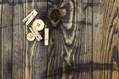 Knappar och pinnor Royaltyfria Bilder
