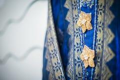 Knappar på klänningen Royaltyfria Foton
