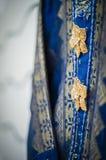 Knappar på klänningen Royaltyfri Bild