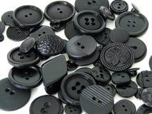 knappar stänger sig upp tappning arkivfoton