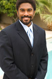 Knappe Afrikaans-Amerikaanse mens Stock Foto's