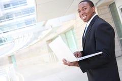 Knappe Afrikaanse BedrijfsMens Royalty-vrije Stock Foto's