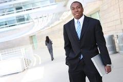 Knappe Afrikaanse BedrijfsMens Royalty-vrije Stock Foto