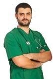 Knappe artsenmens Stock Afbeeldingen