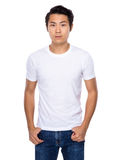 Knappe Aziatische jonge mens Stock Foto's