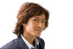 Knappe Aziatische kerel Stock Foto